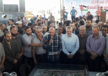 حركة الأحرار تشارك في جمعة ( ثوار من أجل القدس والأقصى) .